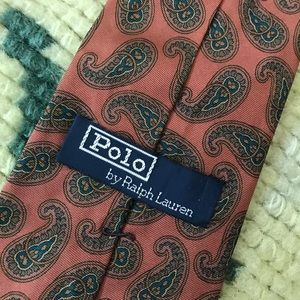 Polo Ralph Lauren Bold Paisley Orange Gree…